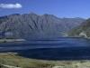 Lake Hawea in den neuseeländischen Alpen, Canterbury, Südinsel, Neuseeland