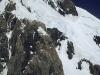 Flug um den Mt. Tasman am Alpenhauptkamm, Südinsel, Neuseeland