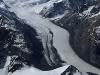 Der Tasman-Gletscher im Mt. Cook-Nationalpark, Südinsel, Neuseeland
