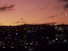 Sonnenuntergang über Wellington, Nordinsel Neuseeland