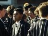 Schüler in Uniform, Christchurch, Neuseeland