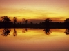 Sonnenuntergang in Yellow Waters, Kakadu Nationalpark, Norhern Territory, Australien