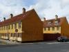Alte Marine-Behausungen im Distrikt Nyboder, Kopenhagen, Dänemark