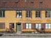 Die Gelben Häuser im Bezirk Nyboder, Kopenhagen, Dänemark
