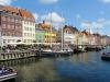 Häuserzeile im Nyhavn, Kopenhagen, Dänemark