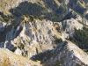 Ammergauer Alpen vom Gipfel der Hochplatte, Bayern, Deutschland