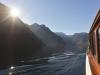 Bootsfahrt auf dem Königssee, Nationalpark Berchtesgaden, Bayern, Deutschland