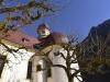 Die Kapelle St, Bartholomä am Königssee, Nationalpark Berchtesgaden, Bayern, Deutschland