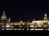 Panorama der Altstadt von Dresden, Sachsen, Deutschland