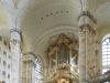 Orgel der Frauenkirche,Dresden, Sachsen, Deutschland