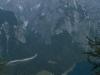 Das erste Sonnenlicht auf der Watzmann-Ostwand, Königssee, Bayern, Deutschland