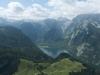 Vom Gipfel des Jenner erschliesst sich das gesamte Panorama der Berchtesgadener Berge, Bayern Deutschland