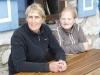 Marissa und Sonja, Wirtinnen der Meilerhütte, Bayern, Deutschland