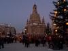 Weihnachtsmarkt am Neumarkt unn der Frauebnkirche, Dresden, Sachsen, Deutschland
