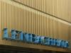 Schriftzug und Fassade des Anbaus am Lenbachhaus München, Bayern, Deutschland