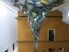 Skulptur \'Wirbewerk\' im Atrium des Lenbachhaus München, Bayern, Deutschland