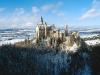 Schloss Neuschwanstein bei Füssen im Winter, Bayern, Deutschland
