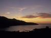 Sonnenuntergang über der Bucht von Proccio,  Elba, Toskana, Italien
