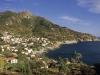Der Ort Chiessi an der wildromatischen Westküste, Elba, Toskana, Italien