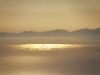 Blick von Elba hinüber nach Korsika, Toskana, Italien