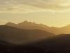 Das Monte Capanne Massiv im goldenen Abendlicht,  Elba, Toskana, Italien