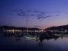 Abendstimmung am Strand von Marina di Campo, Elba, Toskana, Italien