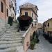 Gassen und Treppen in der Altstadt von Poggio, Elba, Toskana, Italien