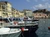 Der alte Darsena-Hafen von Portoferraio, Elba, Toskana, Italien