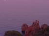Abendstimmung am Cap Dramont, St. Raphael, Corniche d\'Estérel, Cote d\'Azur, Frankreich