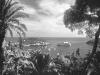 Blick auf das Cap Ferrat und die Bucht von Villefranche, Cote d\'Azur, Frankreich