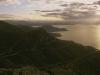 Morgenstimmung an der Corniche d\'Or, dem Estérel-Massif und der klassischen Cote d\'Azur, Frankreich