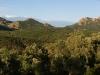 Panorama des Estérel-Gebirges, Corniche d\'Estérel, Cote d\'Azur, Frankreich