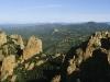 Auf dem Gipfel des Cap Roux im Estérel-Massif, Cote d\'Azur, Frankreich