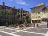 Marktplatz in der Altstadt von Frejus, Cote d\'Azur, Frankreich