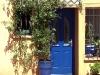 Hauseingang in Frejus, Cote d\'Azur, Frankreich