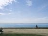 Am Meer bei Menton, Cote d\'Azur, Frankreich