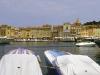Der Hafen und die Altstadt von St. Tropez, Cote d\'Azur, Frankreich