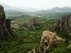 Klöster auf den Felsen von Meteora, Griechenland