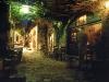 Taverne in Monemvasia, Peloponnes, Griechenland