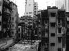 Häuser in Sheung Wan, Hongkong, China