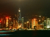 Skyline von Hongkong bei Nacht, Hongkong, China