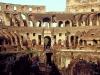 Innenansicht des Kolosseum, Rom, Italien
