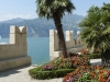 Mediterranes Flair in Malcesine am Gardasee; Italien