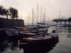Hafen von Torri del Benaco, Gardasee, Italien