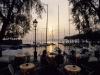 Abendstimmung im  Hafen von Torri del Benaco, Gardasee, Italien