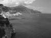 Blick auf Amalfi, Amalfiküste, Kampanien, Italien