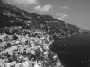 Traumküste Amalfitana bei Positano, Amalfiküste, Kampanien, Italien