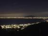 Bucht von Sorrent mit Vesuv und Neapel bei Nacht, Sant\' Agata sui Due Golfi, Kampanien, Italien