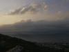 Bucht von Sorrent mit Vesuv und Neapel , Kampanien, Italien