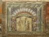 Mosaikbrunnen aus dem Haus von Neptun und Amphritite in Herculaneum, Kampanien, Italien